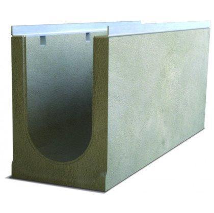 Лоток водоотводный бетонный SteePro DN 200 Н 205
