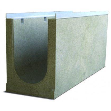 Лоток водоотводный бетонный SteePro DN 200 Н 230