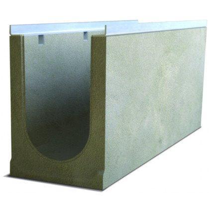 Лоток водоотводный бетонный SteePro DN 200 Н 255