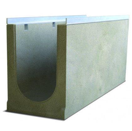 Лоток водоотводный бетонный SteePro DN 200 Н 280