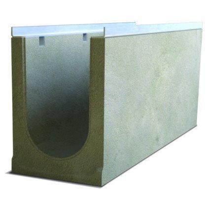 Лоток водоотводный бетонный SteePro DN 200 Н 330