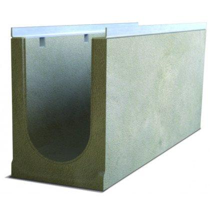 Лоток водоотводный бетонный SteePro DN 200 Н 335