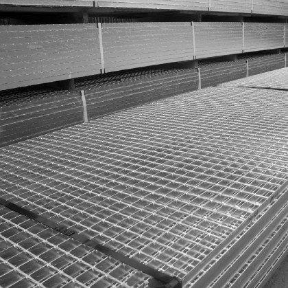 Мат сварного решетчатого настила SР 34х38/30х2 Zn 6100 х1000 мм