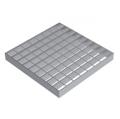 Сварной решетчатый настил SР 34х38/30х2 Zn 1000 х1000 мм
