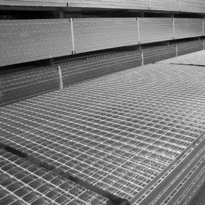 Мат сварного решетчатого настила SР 34х38/30х3 Zn 6050 х1000 мм