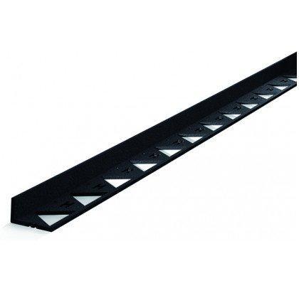 Бордюр пластиковый черный, L-3000 мм