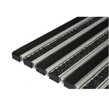 Половик NDC 22 - резина+ворс+скребок (размер под заказ)