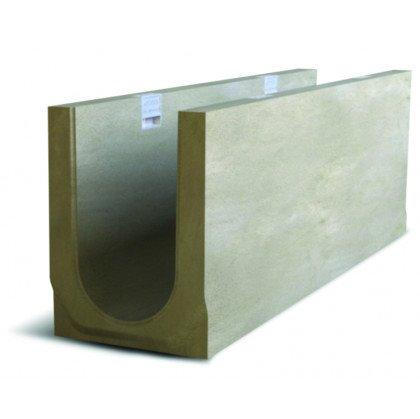 Лоток водоотводный бетонный NDB-P 150 №0/2