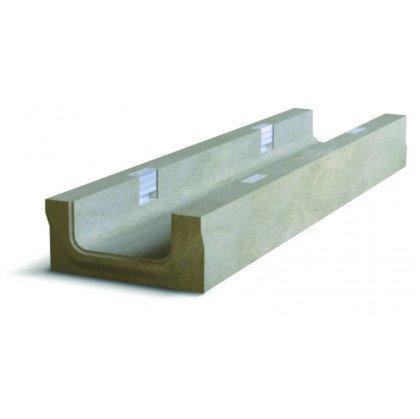 Лоток водоотводный бетонный NDB-P 150 №0/2 тип 2