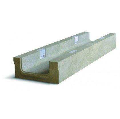 Лоток водоотводный бетонный NDB-P 150 №0/3 тип 2