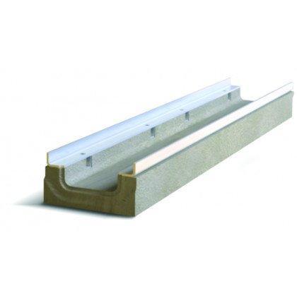 Лоток водоотводный бетонный NDB-M 100 №0/3 тип 2