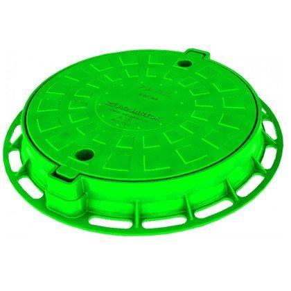 Люк пластиковый легкий малый зеленый