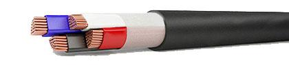 Кабель ВВГнг-FRLS 4x4,0 медный силовой с ПВХ-изоляцией
